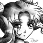 Sketch-Usagi by Rose25xx