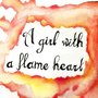 Y tocada fui por tibia aura, reina de llamas. by DanYaoiVampire