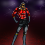 Red Lightning by FoxiFyer