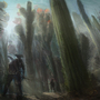 Cactus forest 2 by Kiabugboy