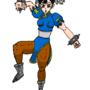 Chun-Li by Earthbound-boy