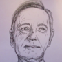 Frank Underwood from House of Cards Drawing ~ Savage Draws ✎