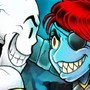 Papyrus vs Undyne by Luichemax