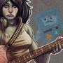 Adventure Time - Marceline Fanart by Cloud-yo
