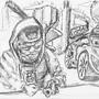 Drunk Doodle by AcidX
