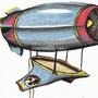 Jet Blimp by AcidX