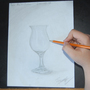 Realistic Drawing Challenge - Glass Bottle by ArtBasement