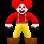 Creepy Clown by FlashFyre