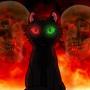Demon Cat by LittleWolfie
