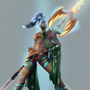warrior (female) by wraith8r