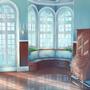 Victorian House Background by JazzFae