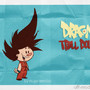 Dragonball - Goku Off-model Cartoon by HugoTendaz