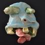 Ceramics Monster Face