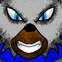Wolf Sticker Style by Darencraft0