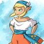 Pirate Zelda by DonCorgi