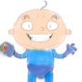 Bald Megaman by Pwnidge