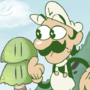 Upcoming Mario Cartoon Concept Art by Motament