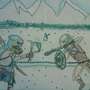 Deadly winter duel by dragonninja43