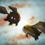 Winged Kuriboh vs Patamon by thiagobm