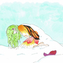 frozen spring by Yagona