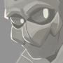 Alien Bust by Spoonitate