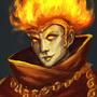 Fire Sorcerer by ArtDeepMind