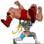 R. Mika VS Zangief -Street Fighter