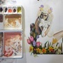 Wander Season Painting WIP by MichelleLapin