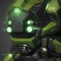 Green Mech by luqzzee