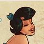 Betty Rubble Flintstones - Pinup Cartoon by HugoTendaz