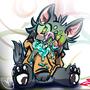 Murder Icewolf by Aluke1