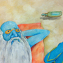 Old Man Winter on Summer Break by DragonKeeper345