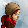 Sad girl by kacenace