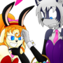 Easter bunnies by drake-rex