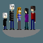 Murder Mystery: Main Characters: Casual Clothing by ColdGold