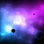 Nebula with Planets
