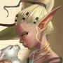 Elf &cat by Waveloop