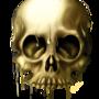 Golden Skull by LukeF