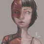 Female Daredevil by MartsArt