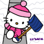 Snowy Hello Kitty by LillithSahl