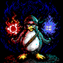Ninja Penguin - Windows 10 and Ubuntu by enzob7