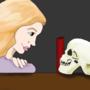 Skull Girl by BreakfastDoodles