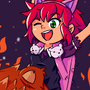 Annie and Tibbers by Braivety