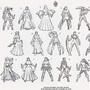 Sword Girls by FASSLAYER