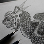 Pollution Snake by Skaalk
