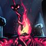 Dark Souls Bonfire by Shamfooo
