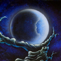 The girl in the moon II by JulianJoelMessar