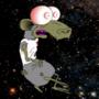 Rats on Cocaine Space Gif by ApocalypseCartoons
