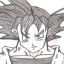 Goku by Rennis5
