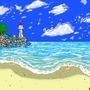 Pixel Art Beach